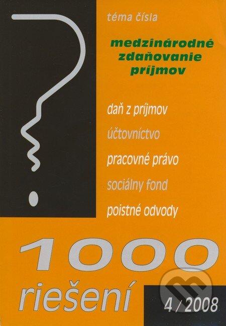 Fatimma.cz 1000 riešení 4/2008 Image