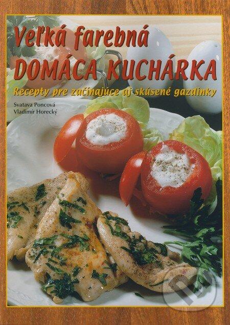 Fatimma.cz Veľká farebná domáca kuchárka Image
