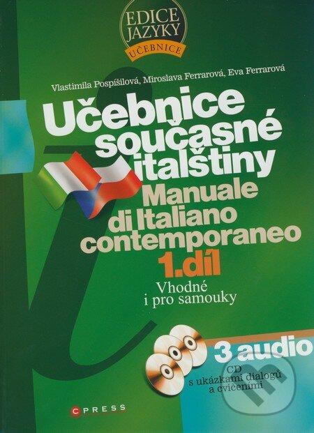 Newdawn.it Učebnice současné italštiny - 1. díl + 3 audio CD Image