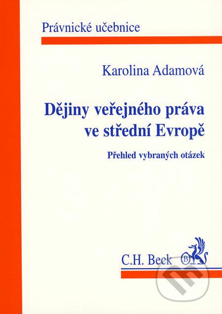 Bthestar.it Dějiny veřejného práva ve střední Evropě Image