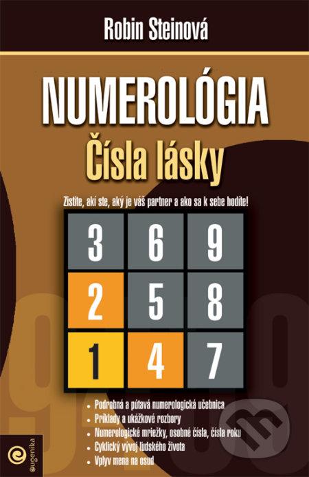 ecc622ca42 Kniha  Numerológia - Čísla lásky (Robin Steinová)