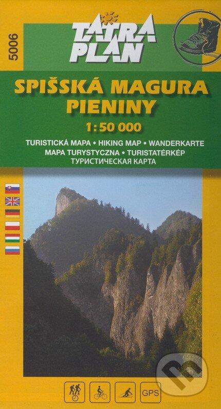 Peticenemocnicesusice.cz Spišská Magura - Pieniny 1:50 000 Image