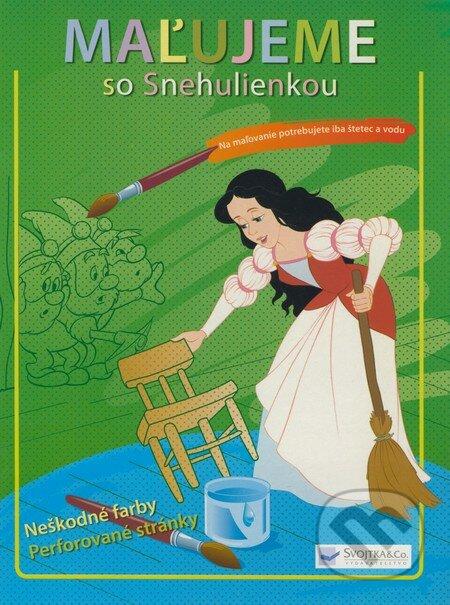 Fatimma.cz Maľujeme so Snehulienkou (Vymaľovánka) Image