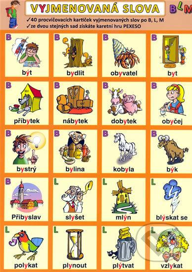 Interdrought2020.com Vyjmenovaná slova - B, L, M Image