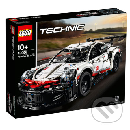 LEGO Technic 42096 Preliminary GT Race Car -