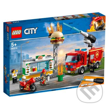 LEGO City 60214 Zásah hasičov v burgrárni - LEGO