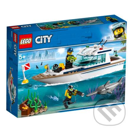 LEGO City - Potápačská jachta - LEGO