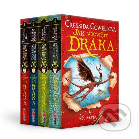 Jak vycvičit draka 1-4 díl (4 knihy) - Cressida Cowell