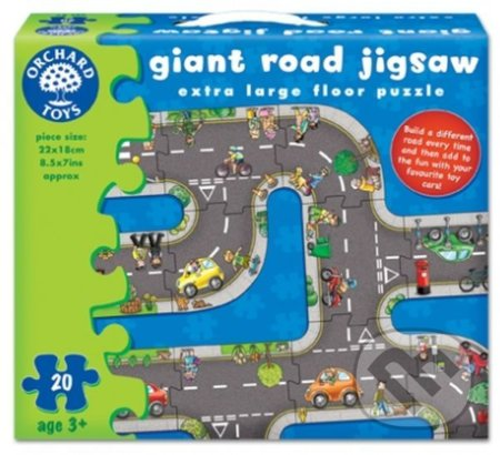 Giant Road Jigsaw (Cesta - puzzle) -