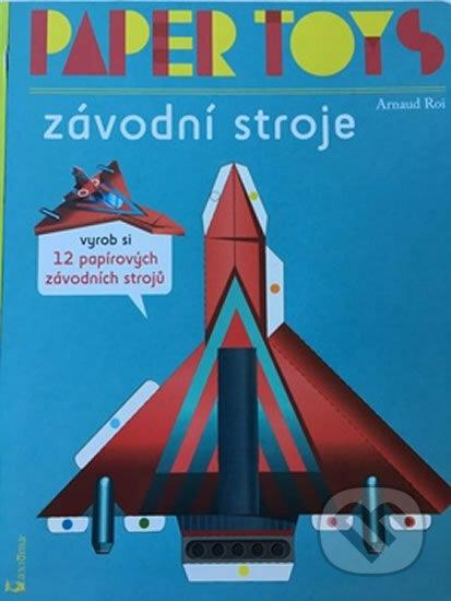 Fatimma.cz Paper Toys Závodní stroje Image