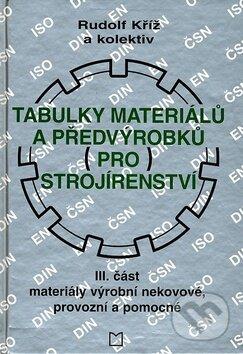 Interdrought2020.com Tabulky materiálů a předvýrobků (pro) strojírenství - III. část Image