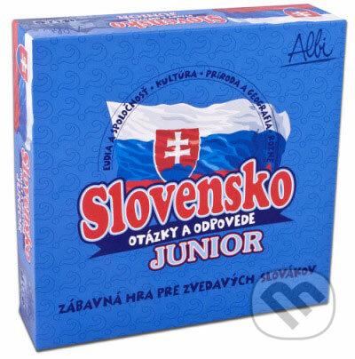 Slovensko - otázky a odpovede - Junior - Albi