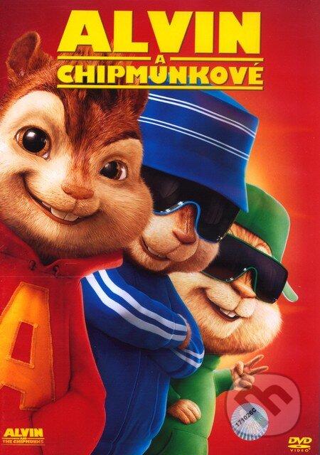 Alvin a Chipmunkovia DVD