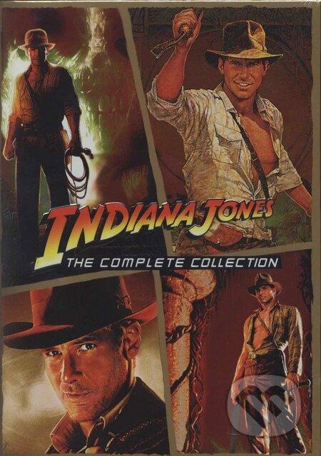 Indiana Jones (kolekcia - 4 filmy) DVD