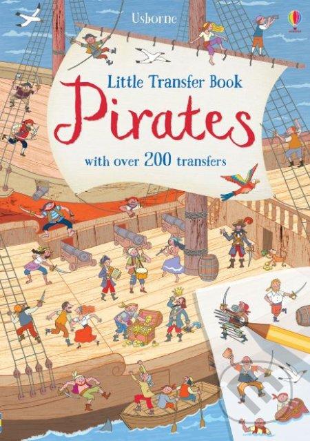 Little Transfer Book: Pirates - Rob Lloyd Jones, Desideria Guicciadini (ilustrácie)