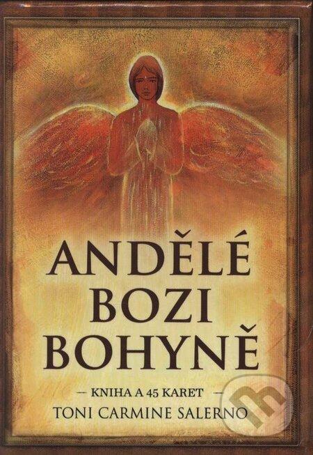 Interdrought2020.com Andělé bozi bohyně (kniha + 45 karet) Image