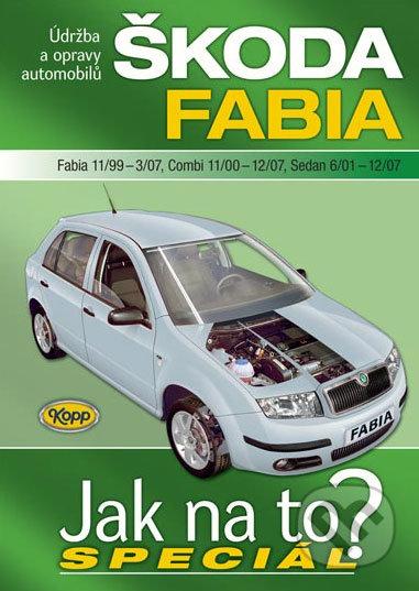 Škoda Fabia (Fabia 11/99 - 3/07, Combi 11/00 - 12/07, Sedan 6/01 - 12/07) - Kopp