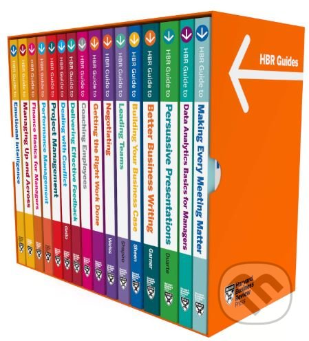 Harvard Business Review Guides Ultimate Boxed Set - Nancy Duarte, Bryan A. Garner, Mary Shapiro, Jeff Weiss