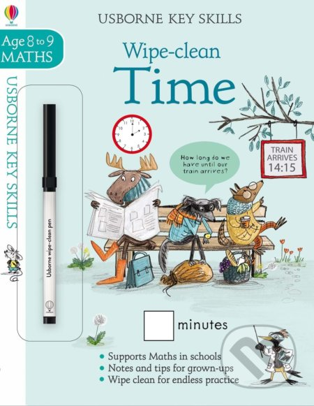 Wipe-clean time 8-9 - Holly Bathie