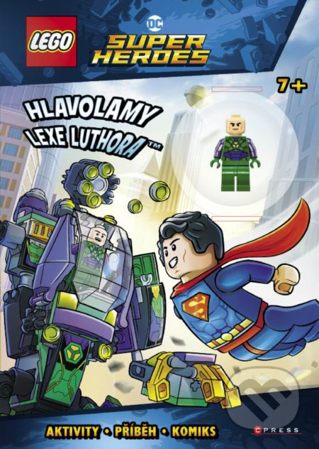 LEGO DC Super Heroes: Hlavolamy Lexe Luthora - CPRESS