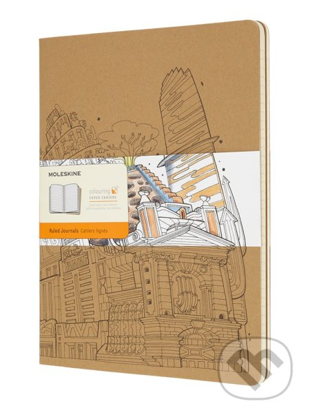 Moleskine - zošity The Wandering City (sada 2 ks) -