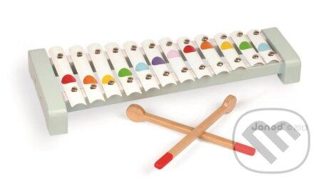 Detský kovový xylofón - Janod