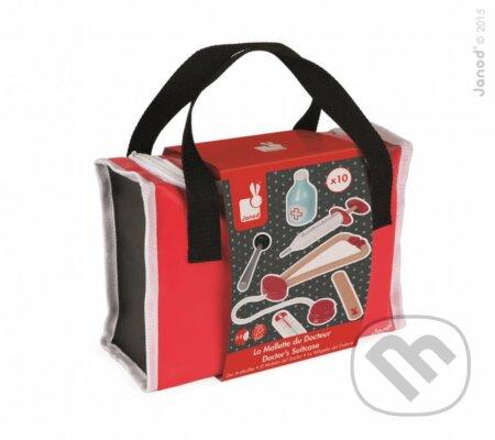 Drevený lekársky kufrík - Janod