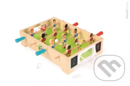 52e9c06adfa08 Spoločenské hry: Drevený futbalový stôl Champions (Janod) | Martinus