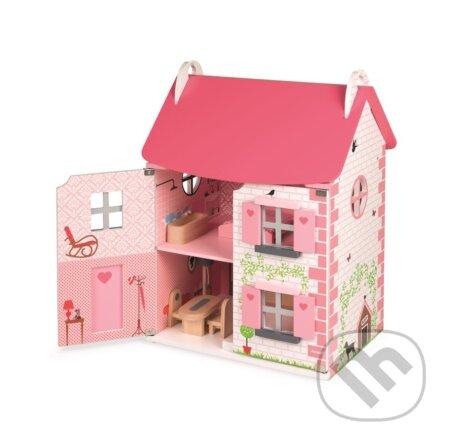 Drevený domček pre bábiky Mademoiselle
