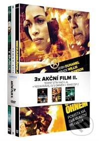 Akční film II. Kolekce 3DVD (Nezahrávej si s ohněm, Temný stín nad L.A., Timecop 2) DVD