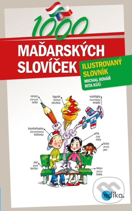 1000 maďarských slovíček - Michal Kovář, Rita Küü, Aleš Čuma (ilustrácie)