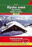 Alpské země 1:400 000 - freytag&berndt