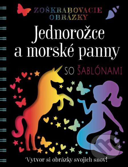 Peticenemocnicesusice.cz Zoškrabovacie obrázky: Jednorožce a morské panny so šablónami Image