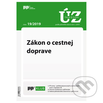 Fatimma.cz Úplné znenia zákonov 19/2019 Image