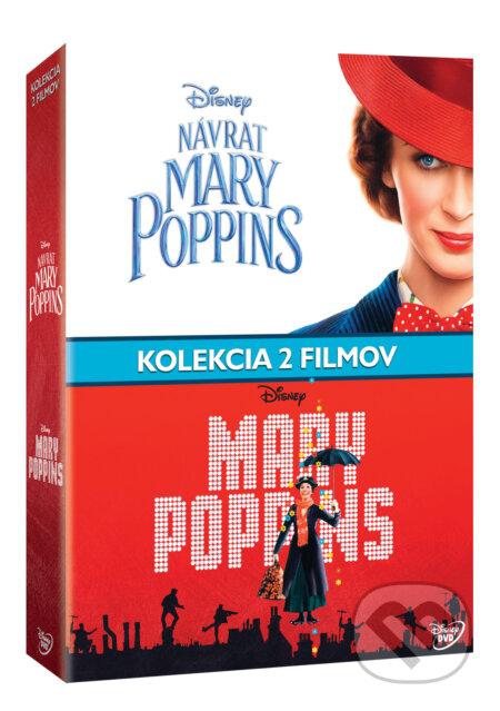 Mary Poppins kolekce DVD