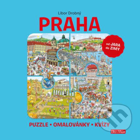 Praha (od jara do zimy) - Libor Drobný