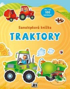 Samolepková knížka Traktory - Jiří Models