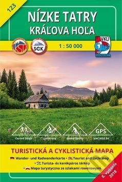Nizke Tatry Kraľova Hoľa Turisticka Mapa C 123 Kolektiv