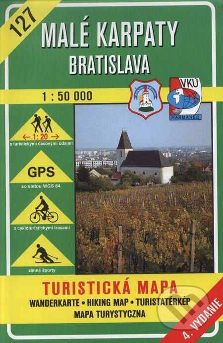 Fatimma.cz Malé Karpaty - Bradlo - turistická mapa č. 129 Image