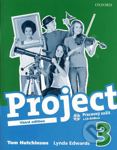 Kniha: Project 3 - Pracovný zošit s CD - ROMom (Tom