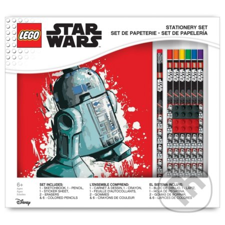 LEGO Star Wars Stationery Set so zápisníkom -