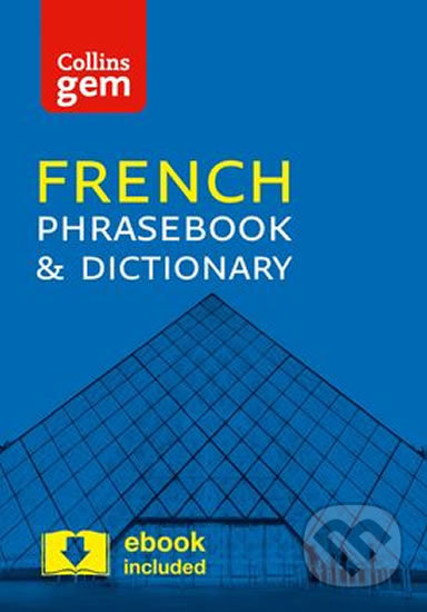 Collins Gem:  French Phrasebook and Dictionary (4ed) -