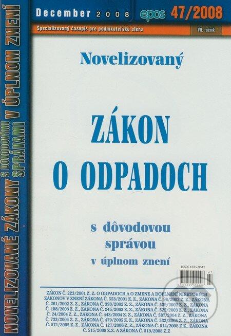 Peticenemocnicesusice.cz Novelizovaný Zákon o odpadoch 47/2008 Image
