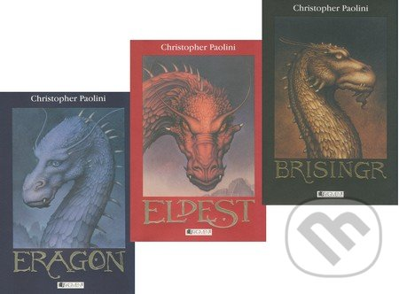 Fatimma.cz Eragon + Eldest + Brisingr (kolekcia) Image