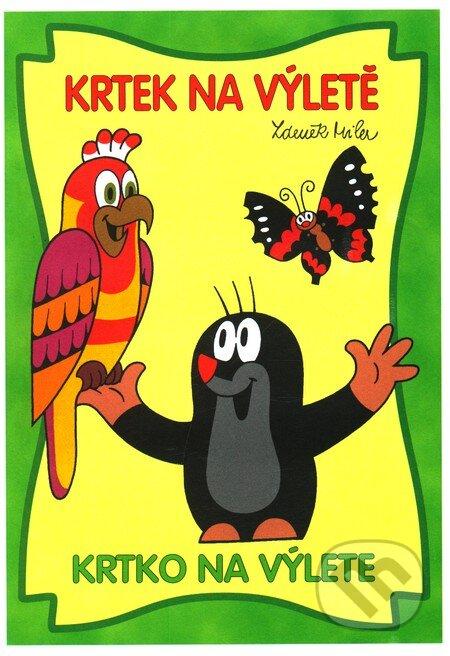 Venirsincontro.it Krtek na výletě / Krtko na výlete (omaľovánka) Image