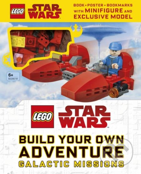 LEGO Star Wars Build Your Own Adventure Galactic Missions - Dorling Kindersley