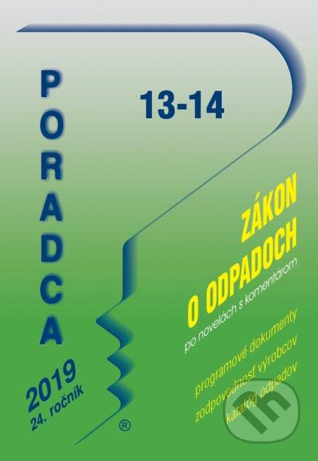 Fatimma.cz Poradca 13-14/2019  - Zákon o odpadoch s komentárom Image