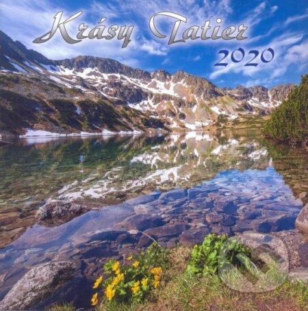Krásy Tatier 2020 - nástenný kalendár - Tatrya