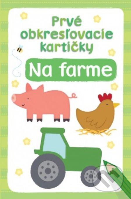 Prvé obkresľovacie kartičky: Na farme -