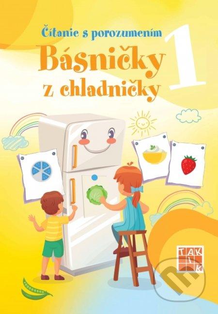 Čítanie s porozumením 1 - Básničky z chladničky - Jana Bezegová